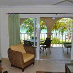 Sapphire Beach Villa 107 living area