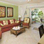 Sapphire Beach Villa 101 living area