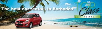 car rentals in Barbados - jeeps, vans, cars