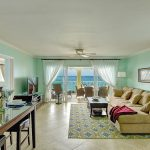 Sapphire Beach Villa 507 living area